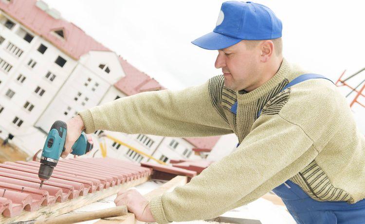 Dachdecker zeichnung  Ausbildung zum Dachdecker - Infos und freie Plätze