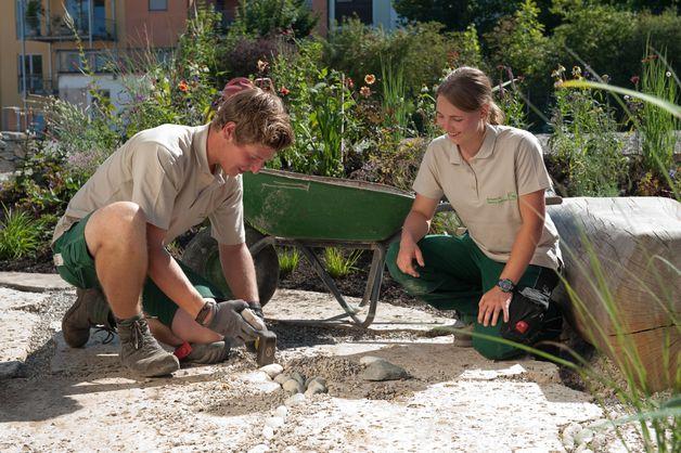 Landschaftsgärtner  Ausbildung Die Landschaftsgärtner - freie Ausbildungsplätze