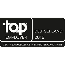 Corporation award top employer 2016