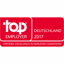Corporation award top employer germany 2017