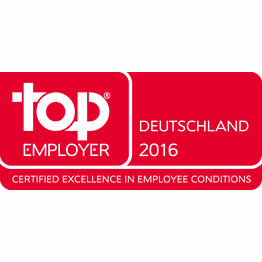 Corporation award top employer germany 2016