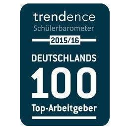 Corporation award 2015 trendence sch ler barometer