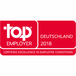 Corporation award top employer germany 2018
