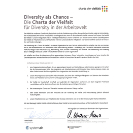 Corporation award charta der vielfalt