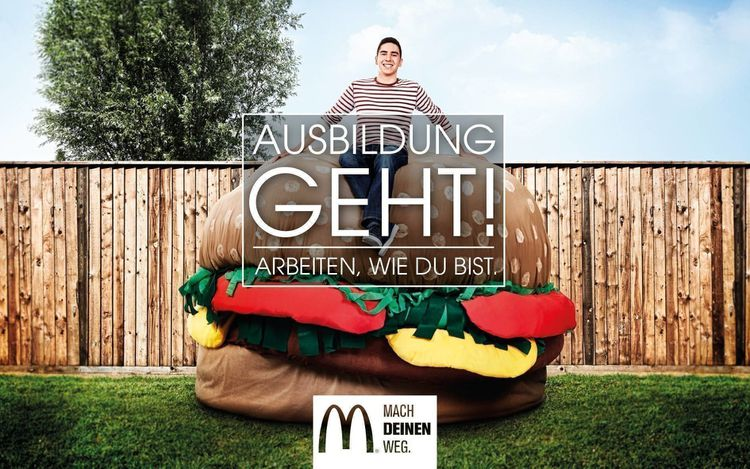 Job posting gallery mcd ausbildung 1