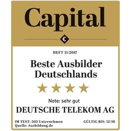 Corporation award cap 1117 beste ausbilder deutsche telekom