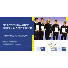 Corporation award nationale bestenehrung ihk 2010