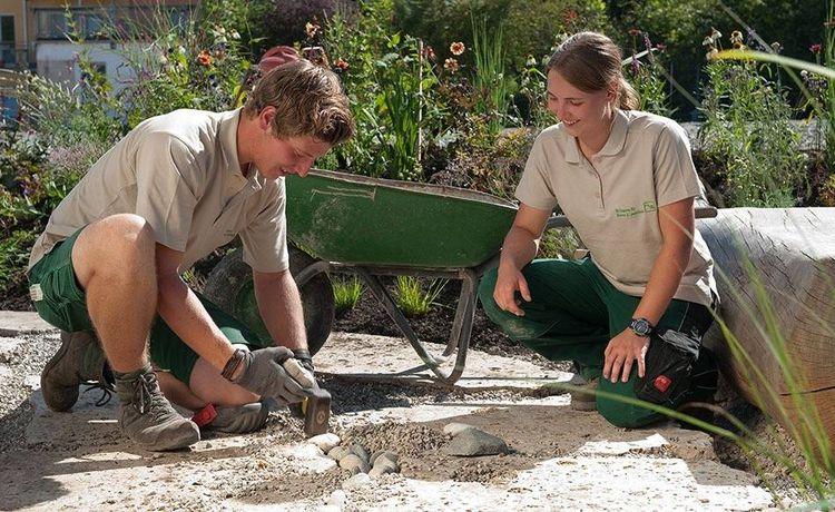 Ausbildung Als Landschaftsgärtner Infos Und Freie Plätze