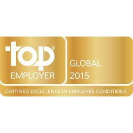 Corporation award 2015 top employer global