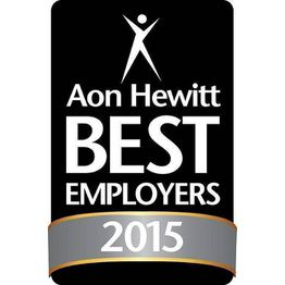 Corporation award 2015 aon hewit best employers