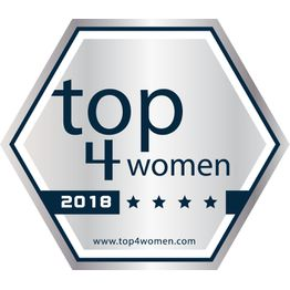 Corporation award top4women silver 2018