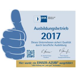 Corporation award 22f60bd5 c615 42c8 a044 140ac3eed183ausbildungsbetrieb 2017 1er